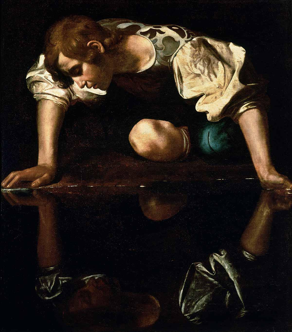 Narcissus Caravaggio