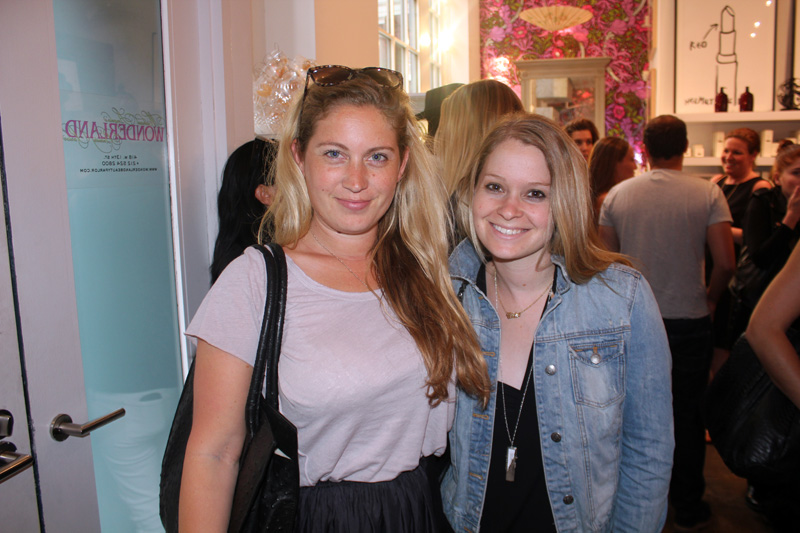 Crystal Evans and Chloe Leavitt