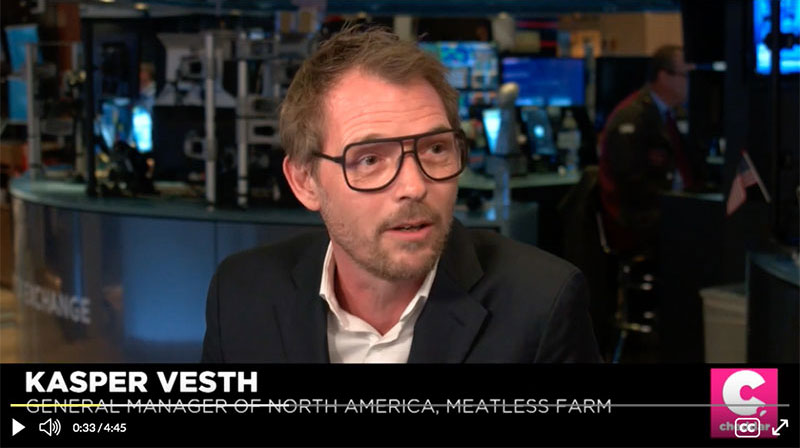 Kasper Vesth at Cheddar