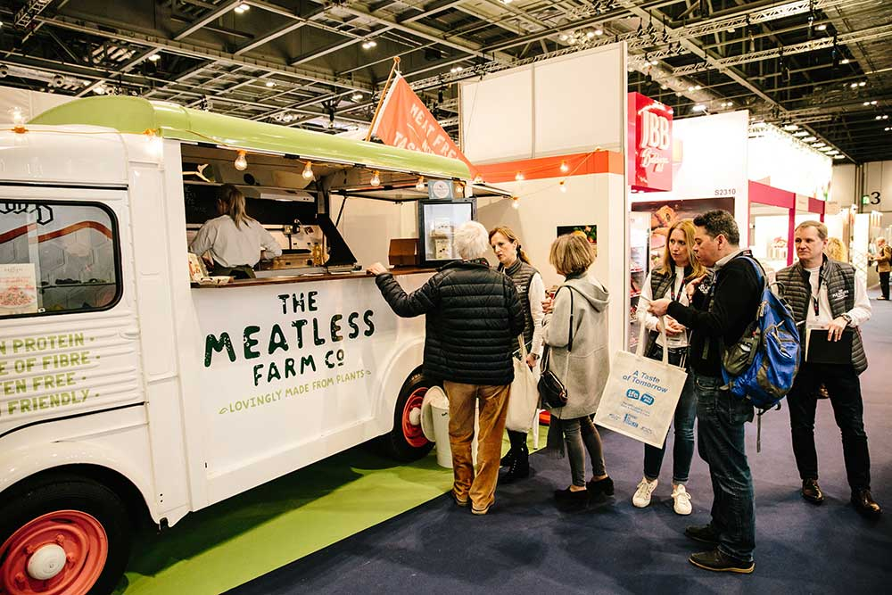Meatless Farm Food Truck at Event