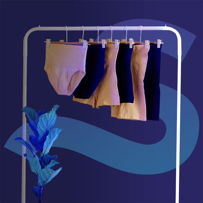 Shapermint undergarments on a rack